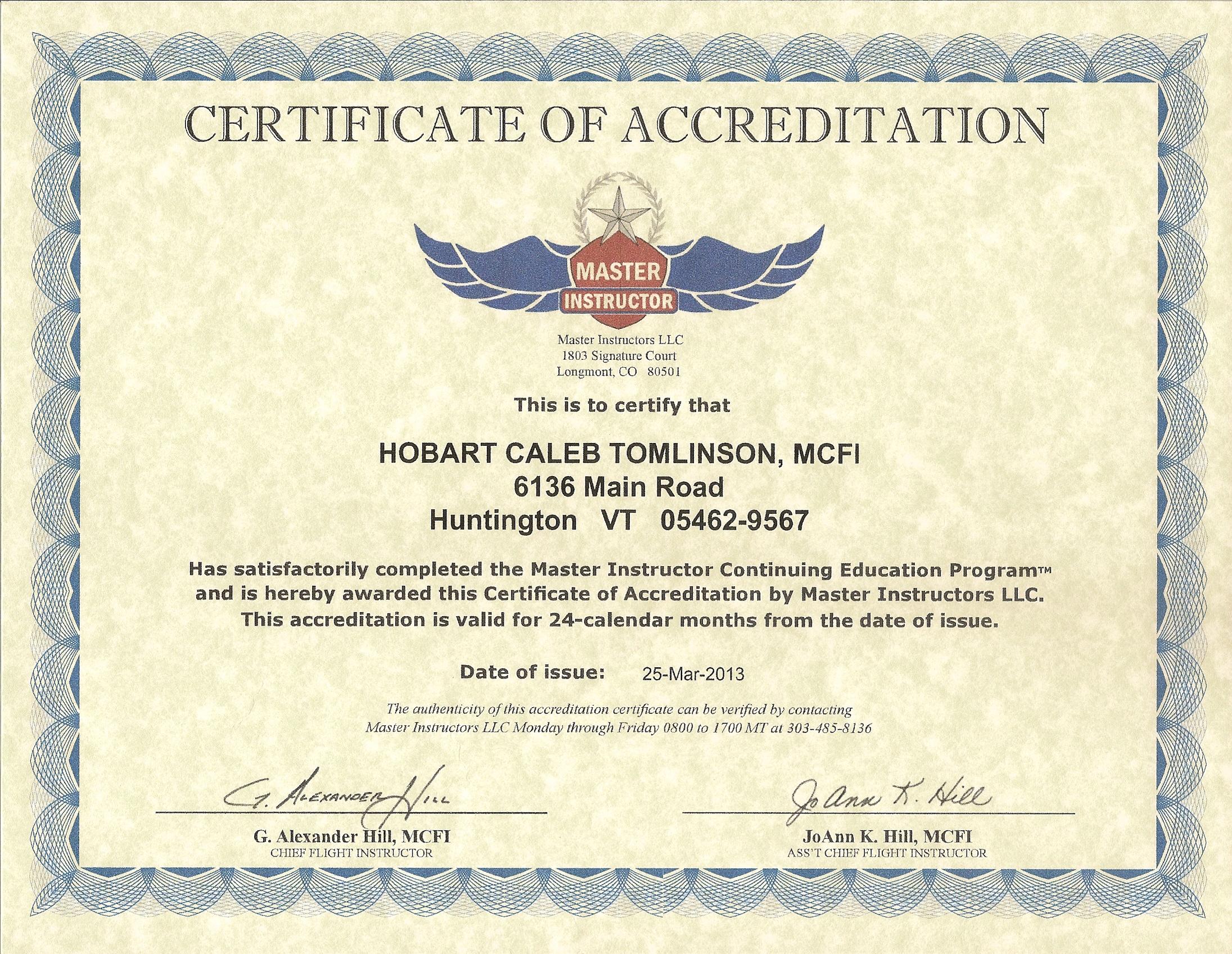 Montair Flight Service LLC Flight Training