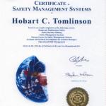 SCSI SMS Certificate  25 Feb 2005